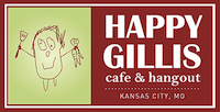 Happy Gillis Cafe & Hangout Website Design by Feed Me Creative Kansas City