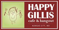 Happy Gillis Cafe & Hangout Website Design by Feed Me Creative Kansas City