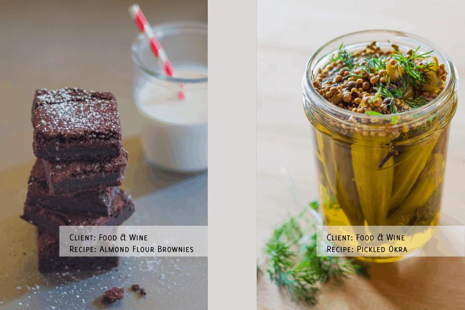 Recipe Development Food Styling and Photography Food & Wine Magazine Kansas City