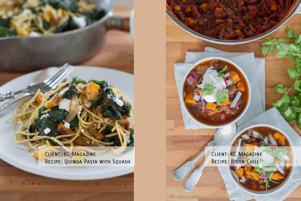 food photographer food stylist kansas city