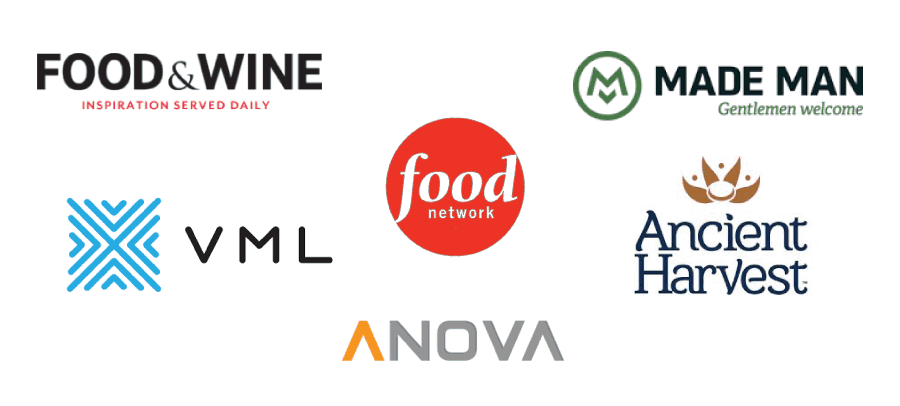 recipe development for brands and agencies