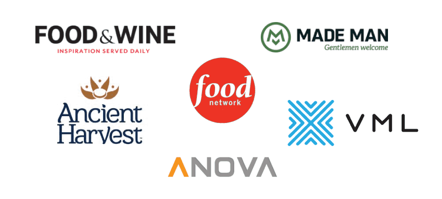 food network food and wine vml brands